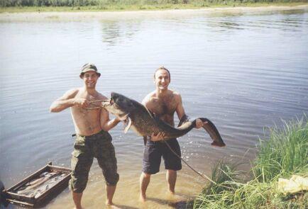все о рыбалке на реке припяти